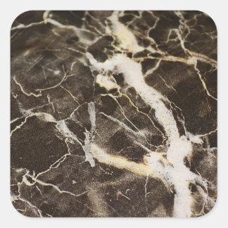 Marmorera-Abstrakt Expressionism av Shirley Taylor Fyrkantigt Klistermärke