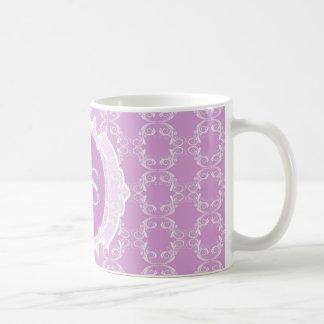 Marockansk art déco för Monogram Kaffemugg