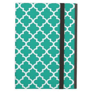 Marockansk smaragdgrönt belägger med tegel designm iPad air skal