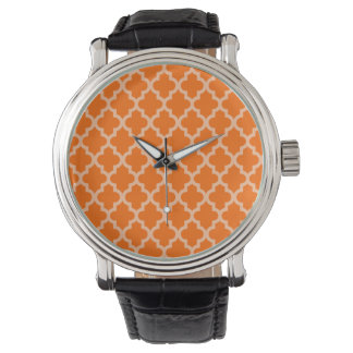 Marockanska Moods Quatrefoil för Tangerine Armbandsur