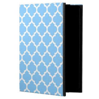 Marockanskt Quatrefoil för himmelblåttvit mönster Powis iPad Air 2 Skal