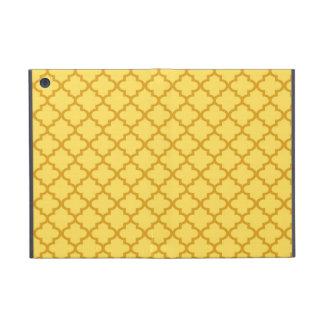 Marockanskt senapsgult belägger med tegel designmö iPad mini fodral