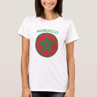 Marocko - marockansk flaggaT-Shirt. T Shirt