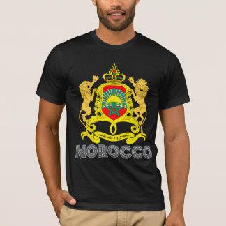 Marocko vapensköld t shirts