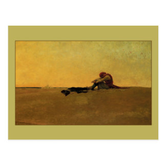 Marooned av Howard Pyle Vykort
