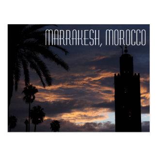 Marrakesh Marocko vykort