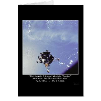 """Mars 7, 1969 """"för spindel"""" Apollo 9 för Lunar Hälsningskort"""