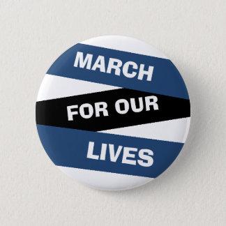 Mars för vår livaktivism knäppas standard knapp rund 5.7 cm