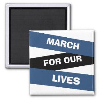 Mars för vår livaktivismmagnet magnet
