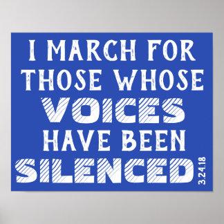 Mars: Jag marscherar… affischen Poster