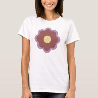 Marsala blomma t-shirts