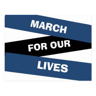 Marschera för vår vykort för reform för