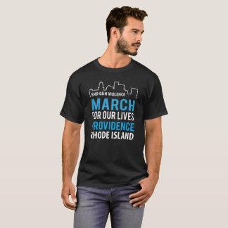 Marschera för våra liv Providence Rhode - ön Tröja