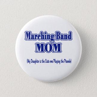 Marschera musikbandMom/piccoloen Standard Knapp Rund 5.7 Cm