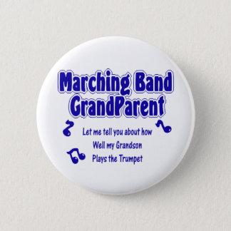 Marschera musikbandmorföräldern standard knapp rund 5.7 cm