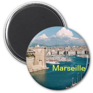 Marseille magnet magnet rund 5.7 cm