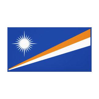 Marshallöarnaflagga Canvastryck