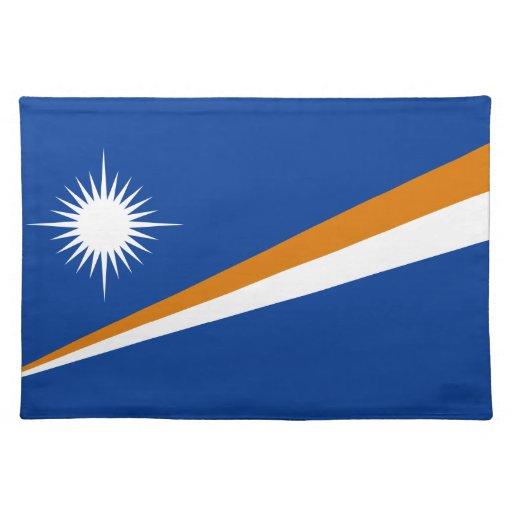 Marshallöarnaflagga Underlägg