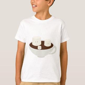 Marshmallows i varm choklad t-shirt