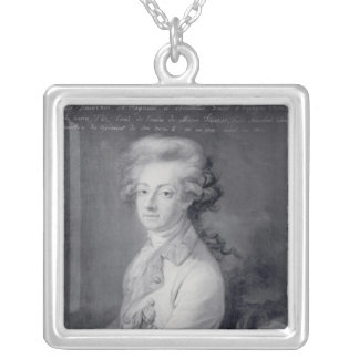 Marskalk Charles-Joseph Prince de Ligne Silverpläterat Halsband