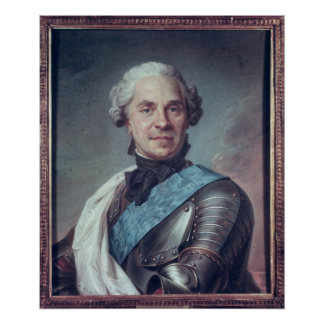 Marskalk Maurice de Saxe Poster