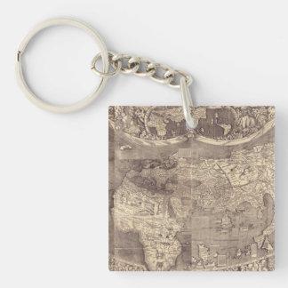 Martin Waldseemuller världskarta 1507