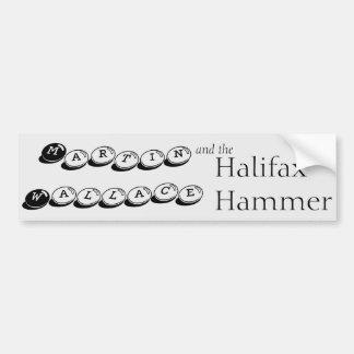 Martin Wallace och Halifaxen bultar Bildekal