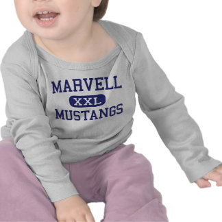 Marvell - Mustangs - kick - Marvell Arkansas Tröja