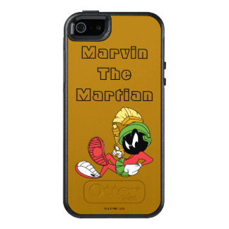 MARVIN MARTIAN™EN som Reclining med laser OtterBox iPhone 5/5s/SE Skal