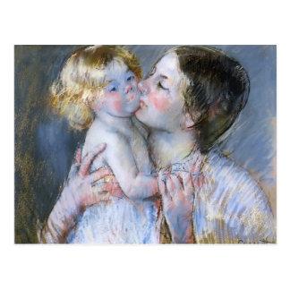 Mary Cassatt: En kyss för babyen Anne (nr. 3) Vykort