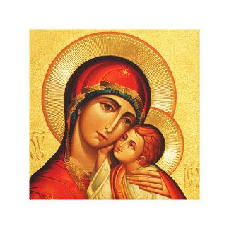 Mary gudbärare canvastryck