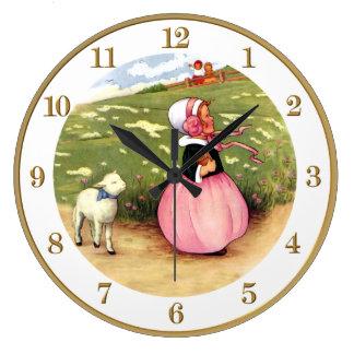 Mary hade lite ett Lambbarnkammarerim att ta tid Stor Klocka