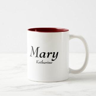 Mary Katherine Två-Tonad Mugg