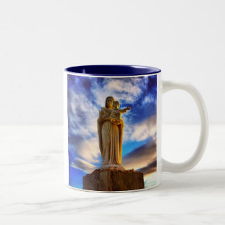 Mary statymugg Två-Tonad mugg