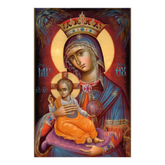 Mary - THEOTOKOS Brevpapper