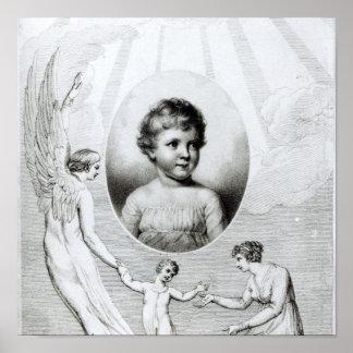 Mary Wollstonecraft Shelley som ett barn Poster