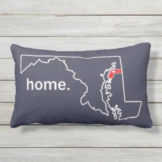 Maryland kudder det hem- länet - Kent Co. Utomhuskudde