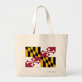 Maryland statlig flagga jumbo tygkasse