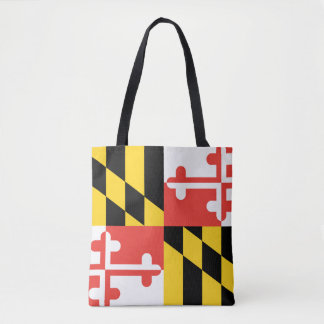 Maryland statlig flagga tygkasse