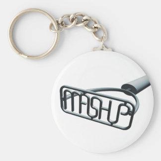 Mashup Keychain Rund Nyckelring