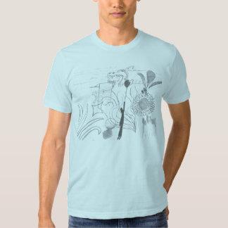 """""""Mashup Mach1"""" grafisk utslagsplats Tshirts"""