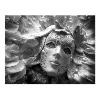 Maskerad ängel vykort