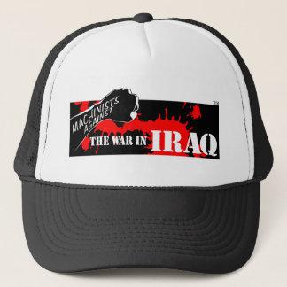 Maskinistarbete mot krig i Irak Truckerkeps