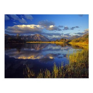 Maskinonge sjö i Waterton sjöarnationalpark 3 Vykort