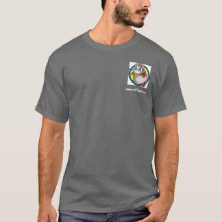 maskot- och logotypskjorta tee shirt