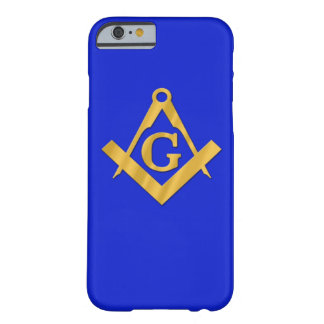 Mason - Masonic blått Barely There iPhone 6 Fodral