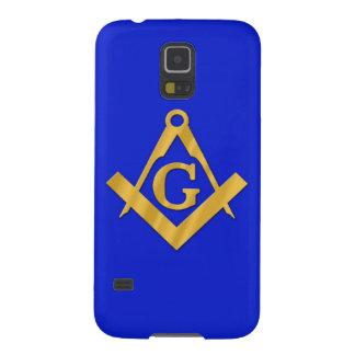 Mason - Masonic blått Galaxy S5 Fodral