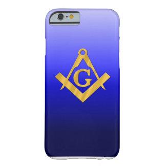 Mason som är masonic med lutningblått barely there iPhone 6 fodral