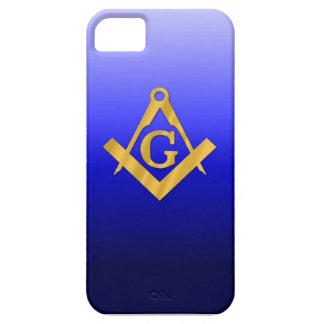 Mason som är masonic med lutningblått iPhone 5 skal