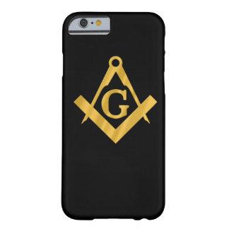 "Masonic ""Mason för liv "", Barely There iPhone 6 Fodral"